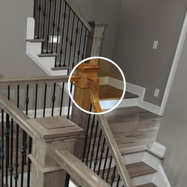 Inspirational White Oak Handrail Picture 165