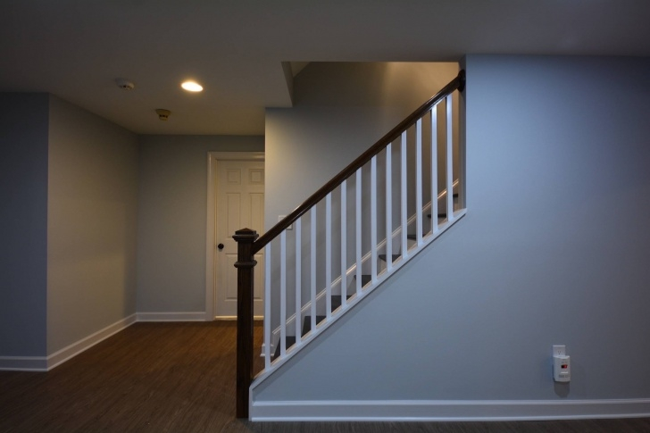 Inspiring Basement Stair Railing Photo 228