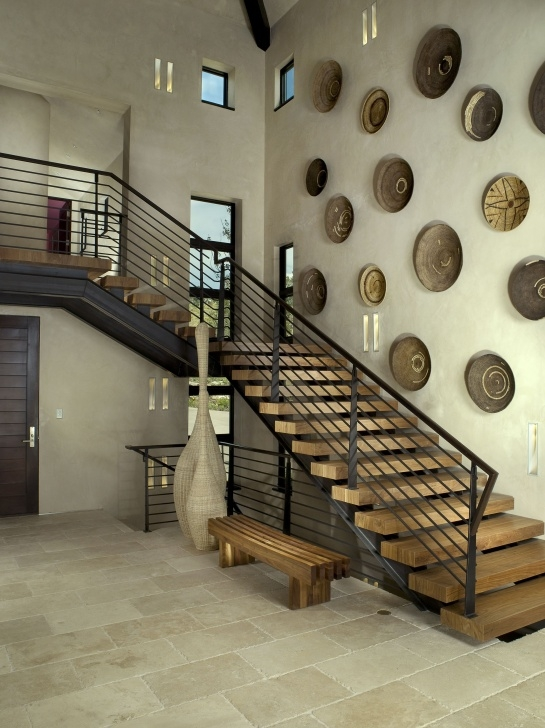 Inspiring Duplex Stairs Wall Design Picture 923