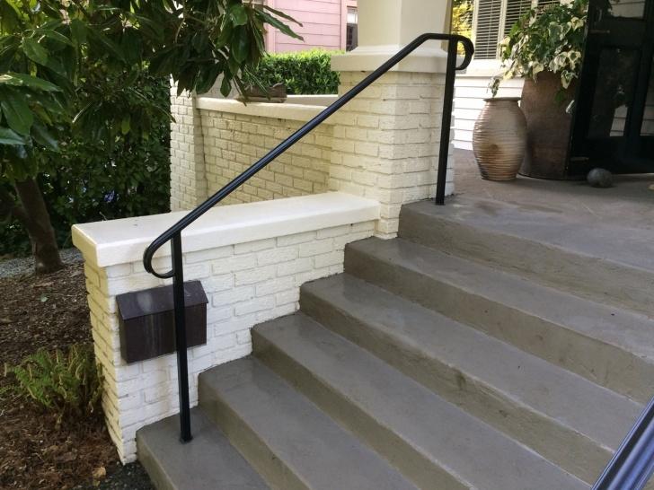 Inspiring Exterior Metal Handrails Image 331
