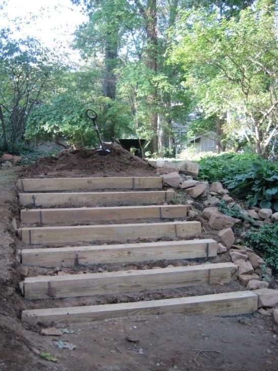 Inspiring Hillside Stairs Design Image 701