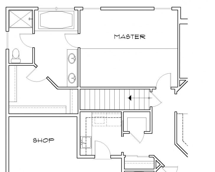 Inspiring House Plans With Stairs In The Middle Photo 390