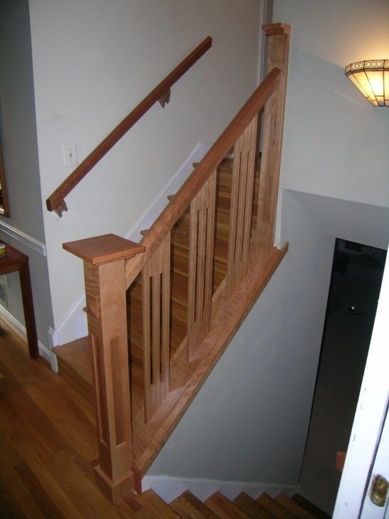 Inspiring Wooden Railing Designs For Stairs Picture 613