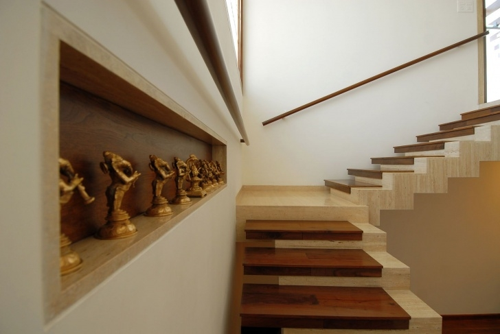 Interesting Duplex Stairs Wall Design Picture 116