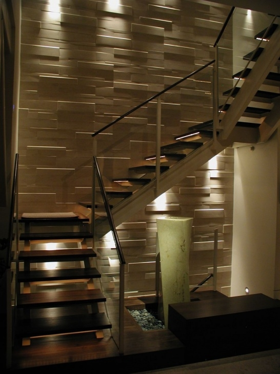 Interesting Duplex Stairs Wall Design Picture 595