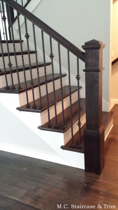 Interesting Iron And Wood Staircase Picture 917