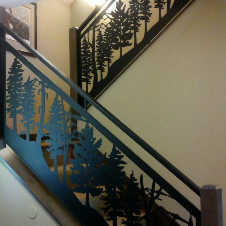 Marvelous Custom Stair Railing Image 355