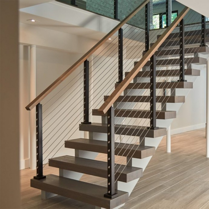 Most Creative Indoor Wire Railing Image 484