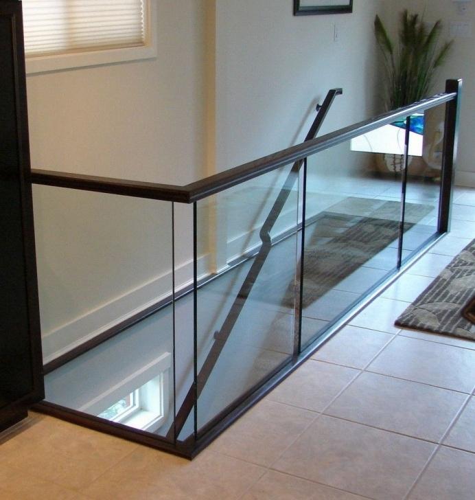 Most Creative Interior Glass Railing Photo 882