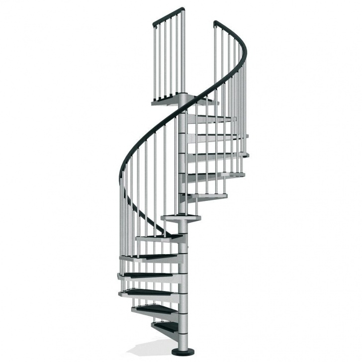Most Creative Spiral Staircase Home Depot Photo 276