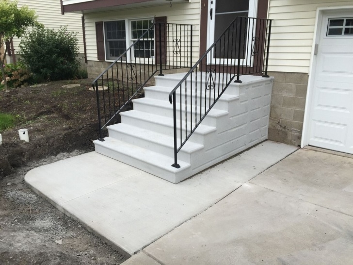 Most Creative Vinyl Handrails For Concrete Steps Picture 308