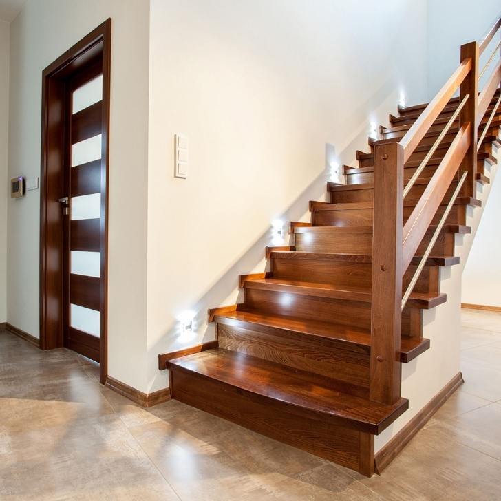 Most Perfect Interior Wood Stairs Image 814