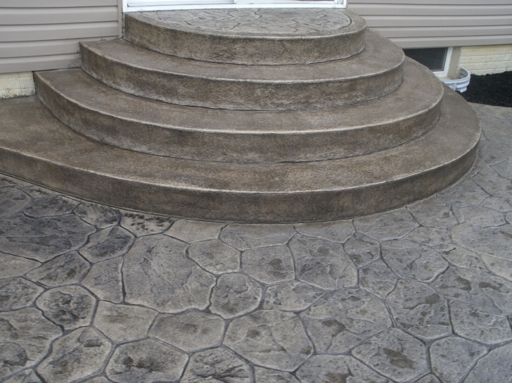 Most Perfect Round Concrete Steps Design Image 350
