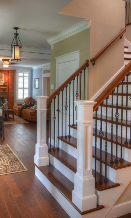 Most Popular Iron And Wood Staircase Photo 765