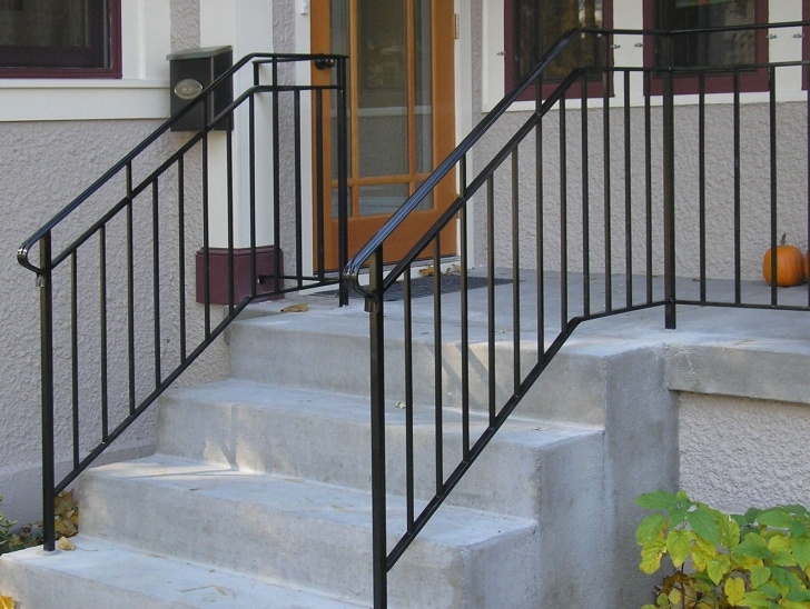 Outstanding Exterior Step Railing Picture 530