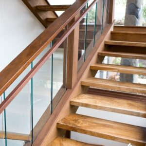 Teak Wood Staircase Designs