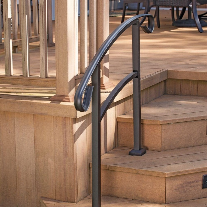 Perfect Outdoor Stair Railing Home Depot Picture 529