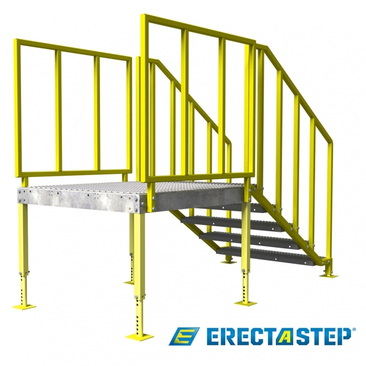 Perfect Portable Stairs With Handrail Image 900
