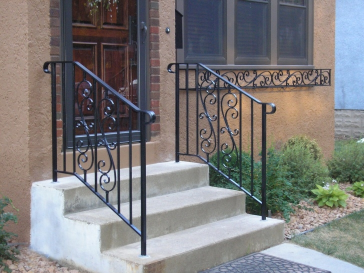 Popular Exterior Step Railing Picture 343