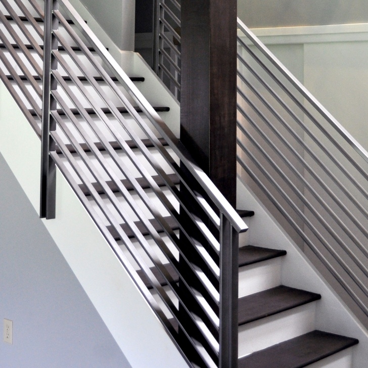 Popular Modern Metal Railings Interior Photo 628