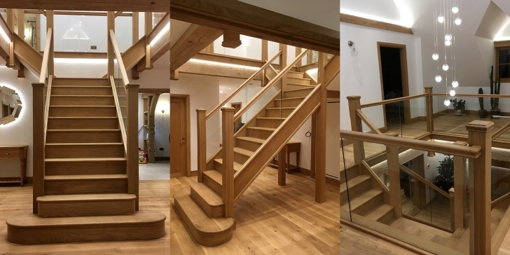 Popular Wooden Staircase Design Photo 279