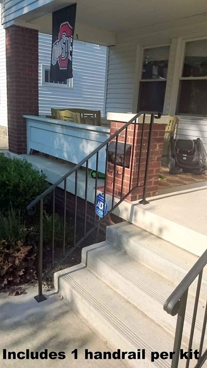 Remarkable Iron X Handrail Picket Photo 291