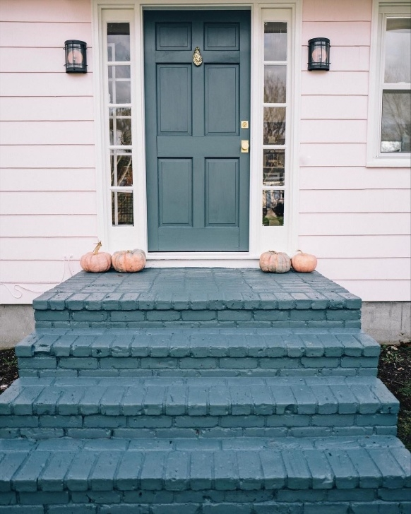 Remarkable Painting Outdoor Concrete Steps Picture 007