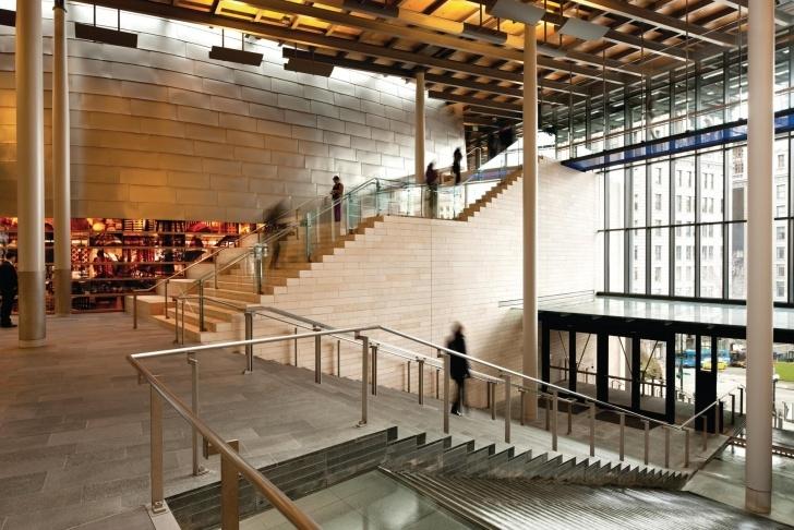Remarkable Public Staircase Design Photo 751