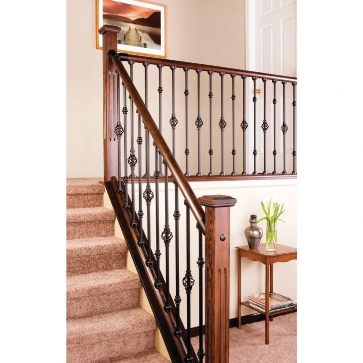Remarkable Wrought Iron Handrail Home Depot Image 359