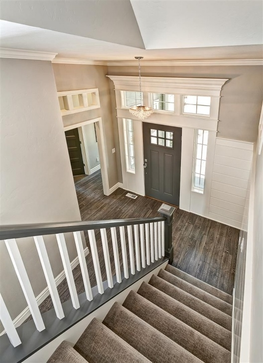 Sensational Grey And White Banister Picture 301