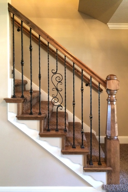 Sensational Wrought Iron Balustrades And Handrails Picture 670