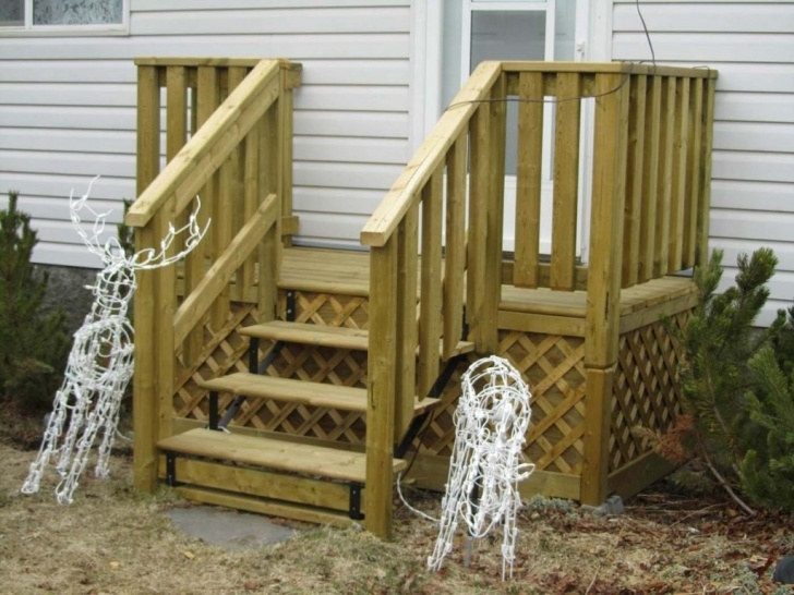 Simple Build Outdoor Stair Railing Photo 886