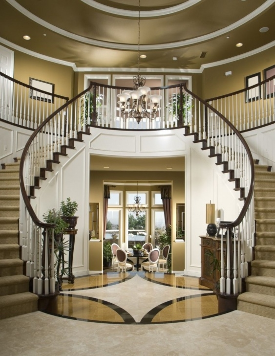 Simple Modern Double Staircase Image 262