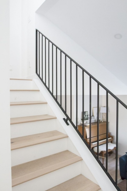 Simple Modern Metal Railings Interior Image 956