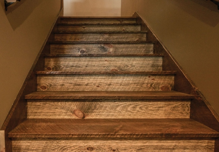 Simple Rustic Handrails For Stairs Photo 150