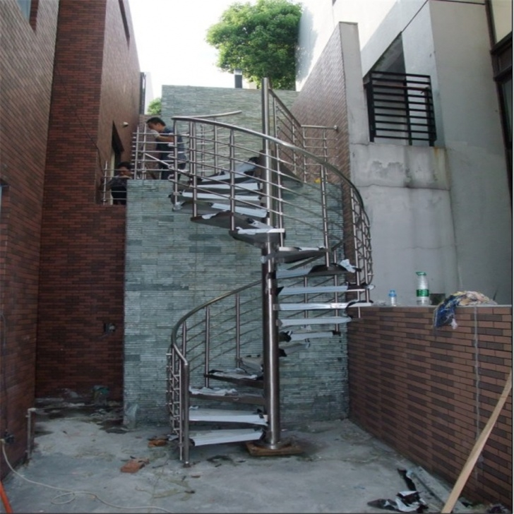 Simple Steel Staircase Outdoor Photo 865