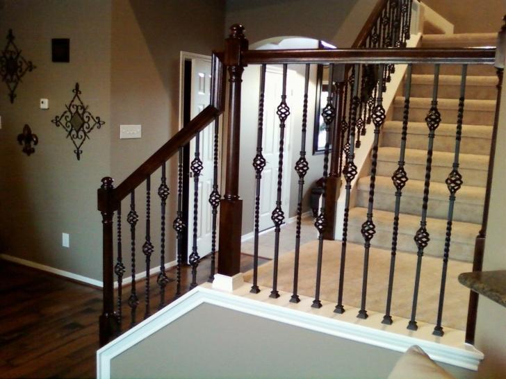 Splendid Metal Staircase Spindles Image 330