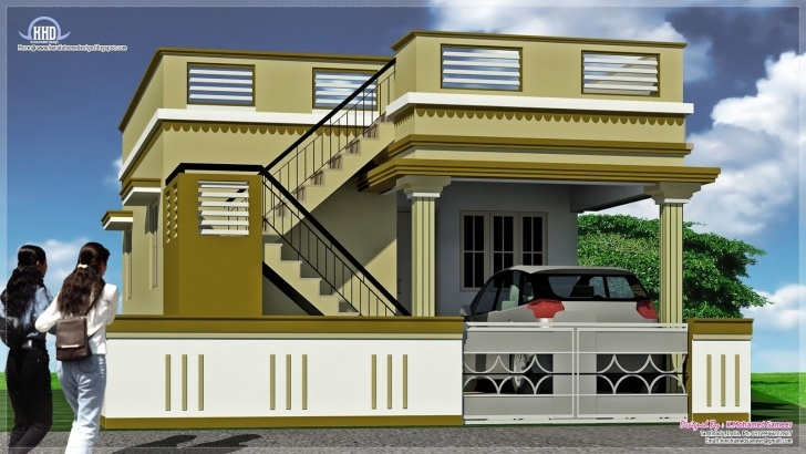 Splendid Outside Stairs Design For Indian Houses Image 813