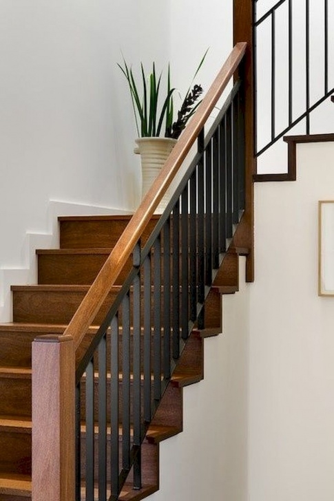 Splendid Wooden Railing Designs For Stairs Picture 057