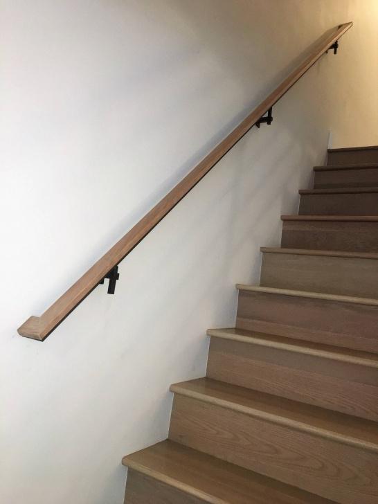Stunning Wall Mounted Handrails Wood Image 814