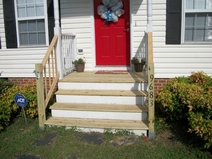 Stylish Railing For Cement Steps Photo 568