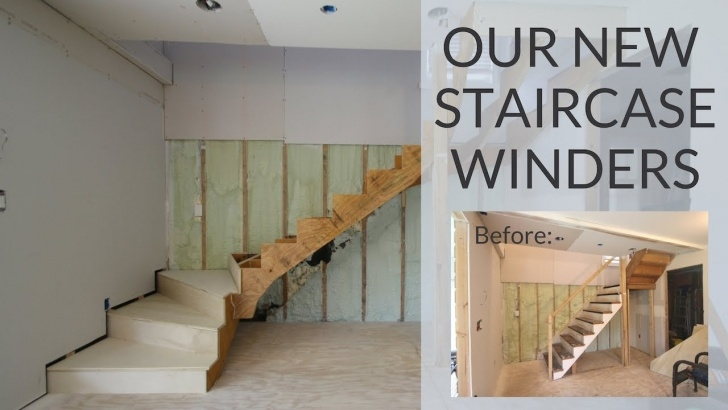 Stylish Staircase Winder Design Photo 183