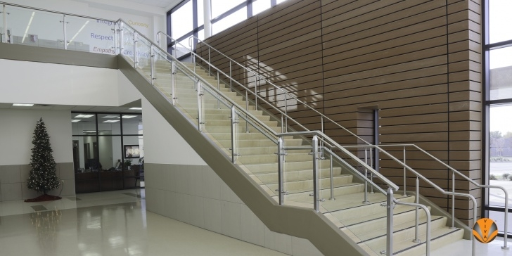 Super Cool Glass Stair Balustrade Systems Image 930