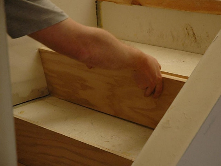 Super Cool Installing Wood Stairs Picture 447