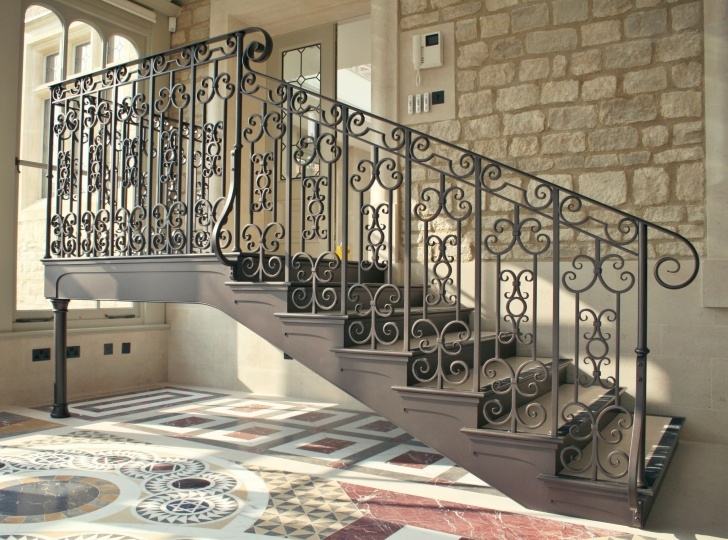 Super Cool Wrought Iron Balustrades And Handrails Photo 948