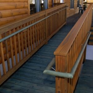 Ada Compliant Wood Handrails