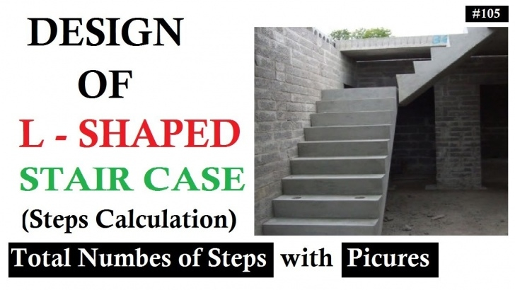 Surprising Double L Shaped Staircase Design Picture 904