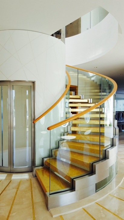 Surprising Helical Staircase Design Picture 440