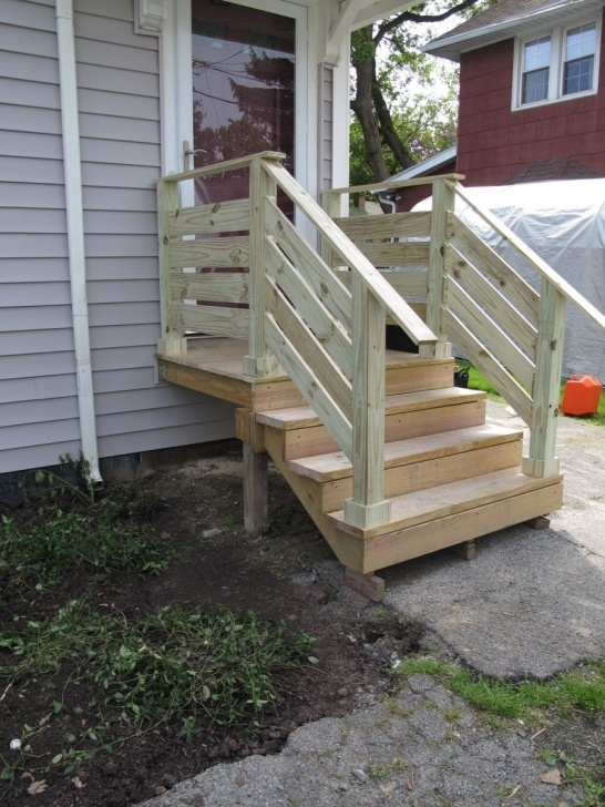 Top Build Outdoor Stair Railing Photo 451
