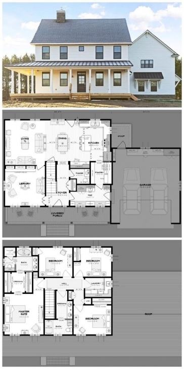 Top House Plans With Stairs In The Middle Image 541